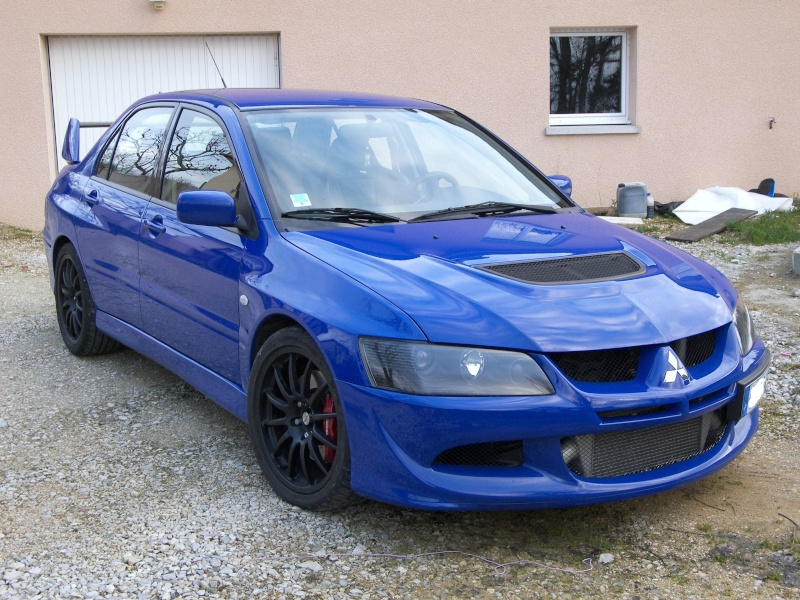 french evo viii blue evolutionm mitsubishi lancer and lancer evolution community. Black Bedroom Furniture Sets. Home Design Ideas