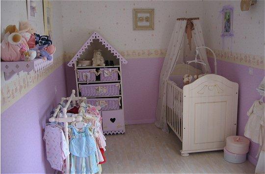 t conseils deco chambre pour bebe fille - Chambre Fille Gris Et Parme