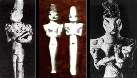 Les Reptiliens dans PEUPLES ANCIENS statue10