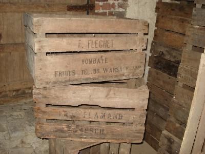 Ou trouver de vieilles caisses en bois