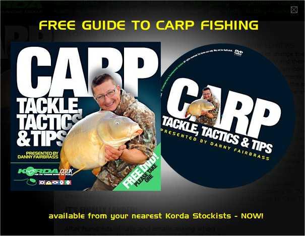 Carp tackle tactics and tips korda
