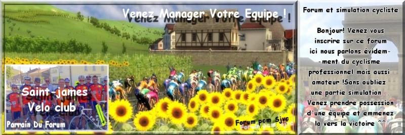 Forum et simulation cycliste