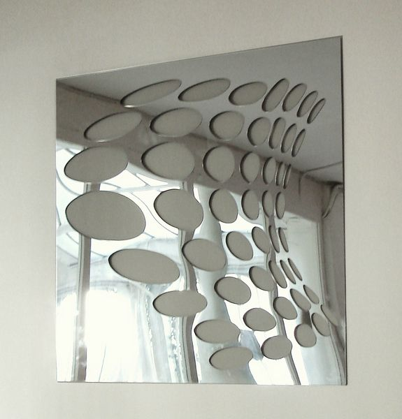 Miroir psych by christian ghion for wall4me for Psyche miroir design