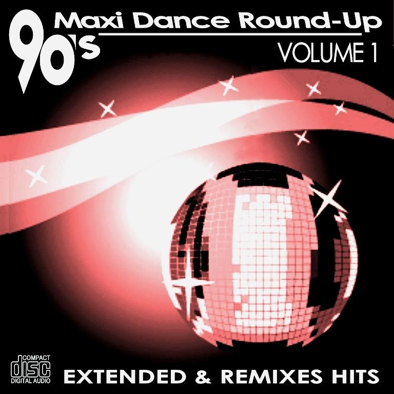 90's Maxi Dance Round - Up 01