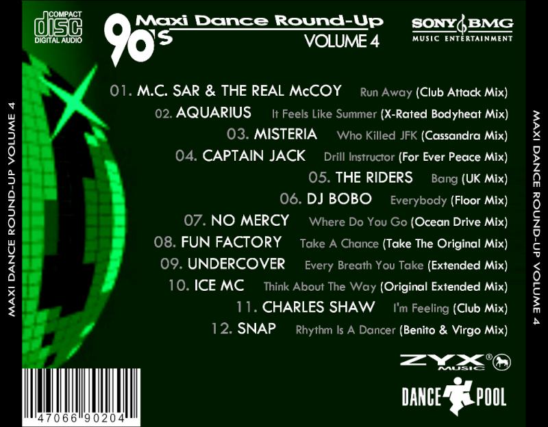 90's Maxi Dance Round - Up 04