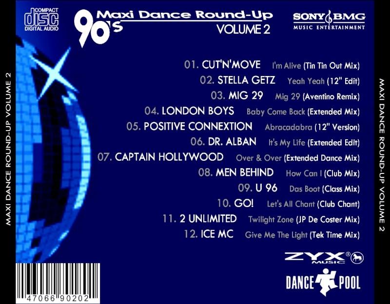 90's Maxi Dance Round - Up 02