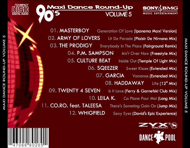 90's Maxi Dance Round - Up 05
