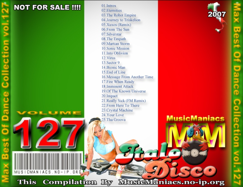 Max Best Of Dance Collection Vol.127 (Area 51 - Best Of Mix)