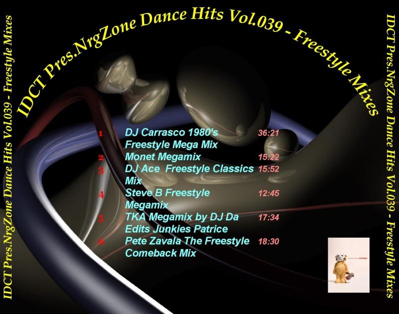 NrgZone Dance Hits Vol.039 - Freestyle Mixes