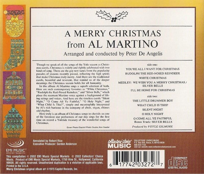 Al Martino - A Merry Christmas