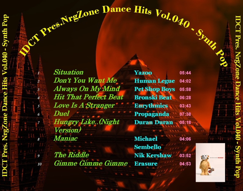 NrgZone Dance Hits Vol.040 - Synth Pop
