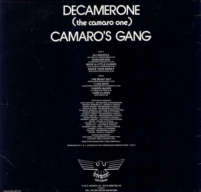 Camaro's Gang - Decamerone