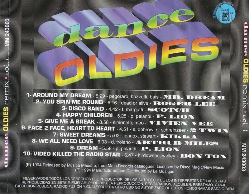 Dance Oldies Remix Vol. 1