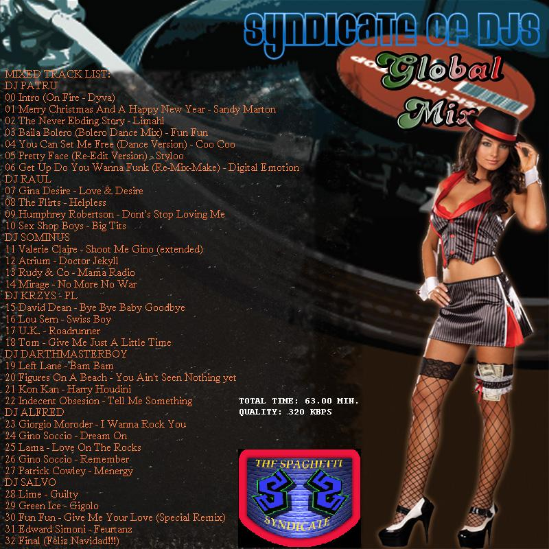 Spaghetti Syndicate Global Mix