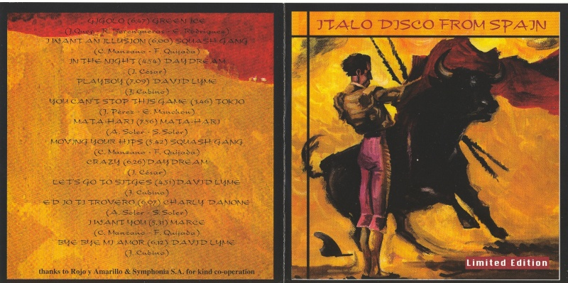 Italo Disco From Spain