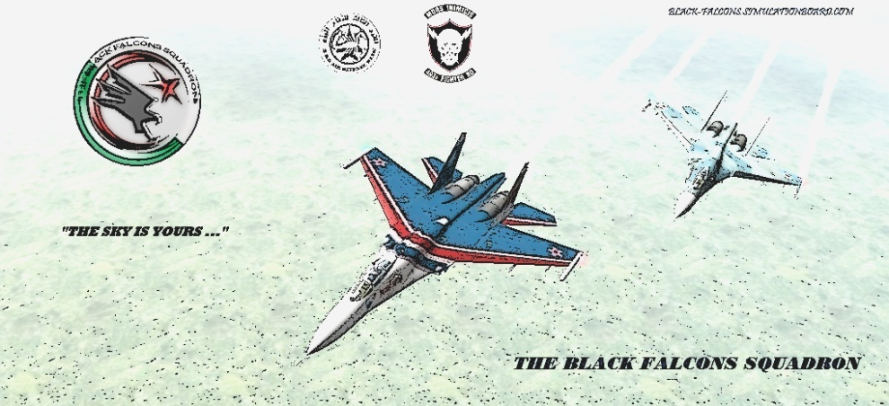 The Black Falcons Squadron