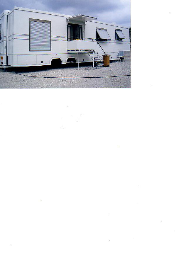 Caravane de forain 72 m carr - Peindre une caravane ...