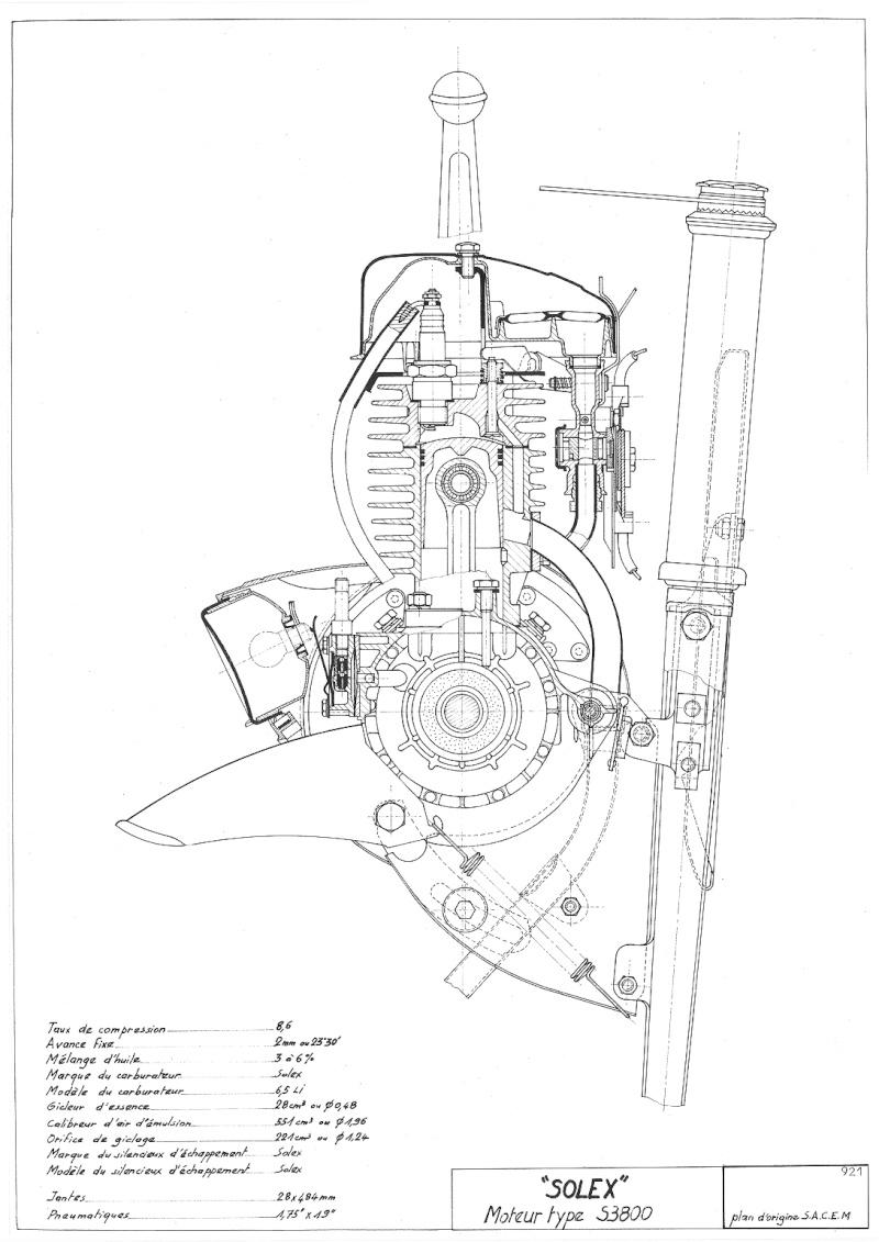 moteur solex plan