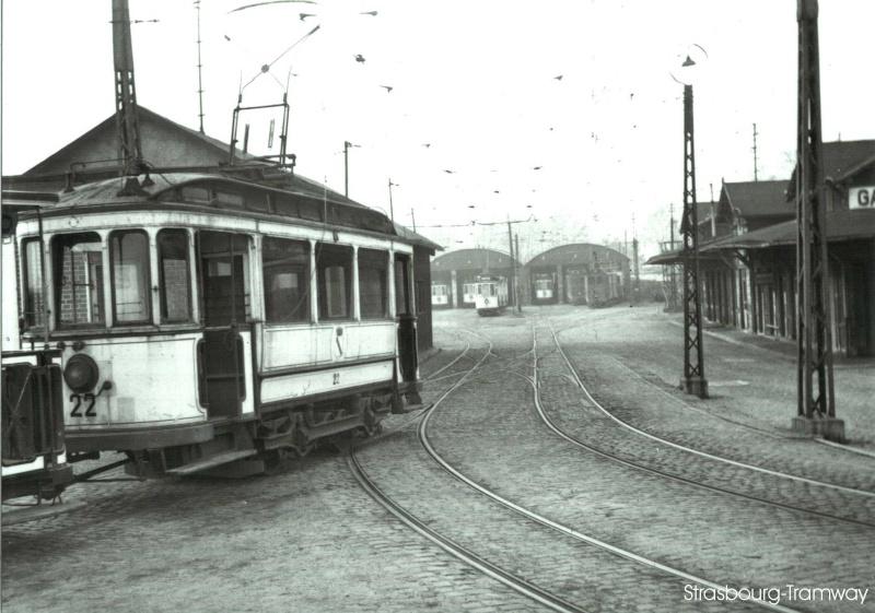 Le Vieux Tram De Strasbourg