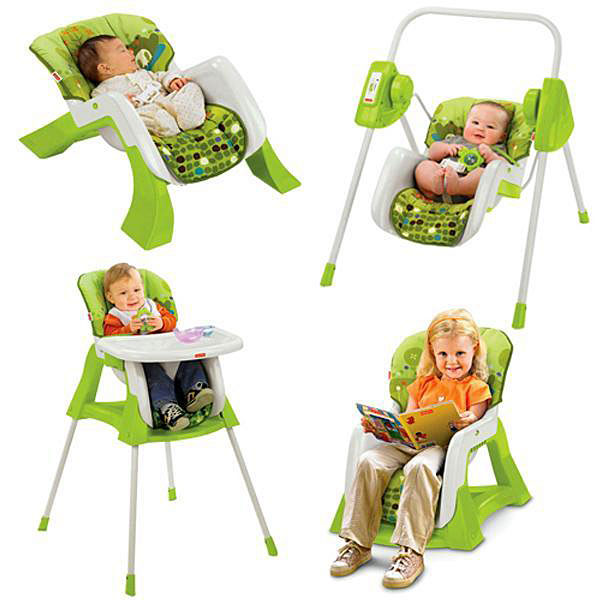 chaise haute 4 en 1 fisher price