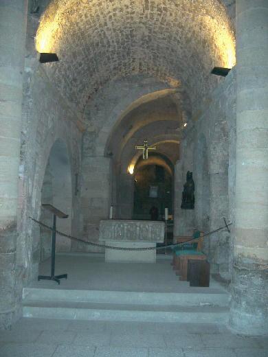 crypte du monastere Saint-Victor, Marseille