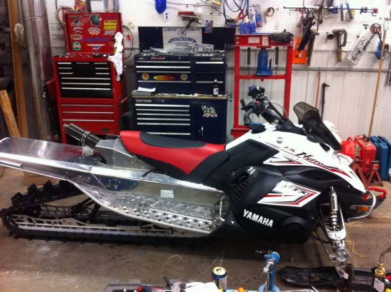 Fx nytro with apex motor na ty4stroke snowmobile forum for Yamaha nytro tunnel