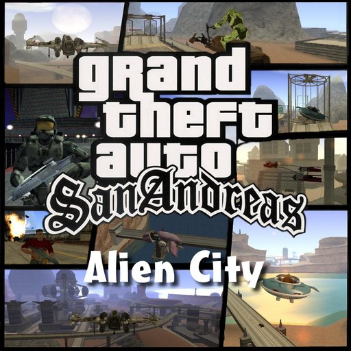 Descargar Alien city  mod full español para Gta san andreas