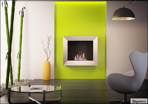 peinture vert anis. deux interieurs avec peinture vert anis et ... - Comment Faire Du Vert Anis En Peinture