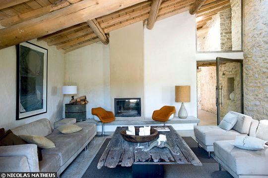 Recherche de couleurs pour un salon for Arredamento soggiorno stile provenzale