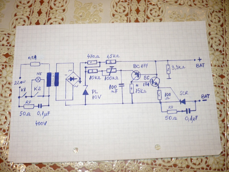 Schema Elettrico Per Caricabatterie 12 Volt : Caricabatteria automatico mantenimento