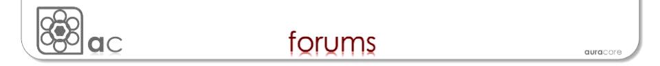 AuraCore Forum.