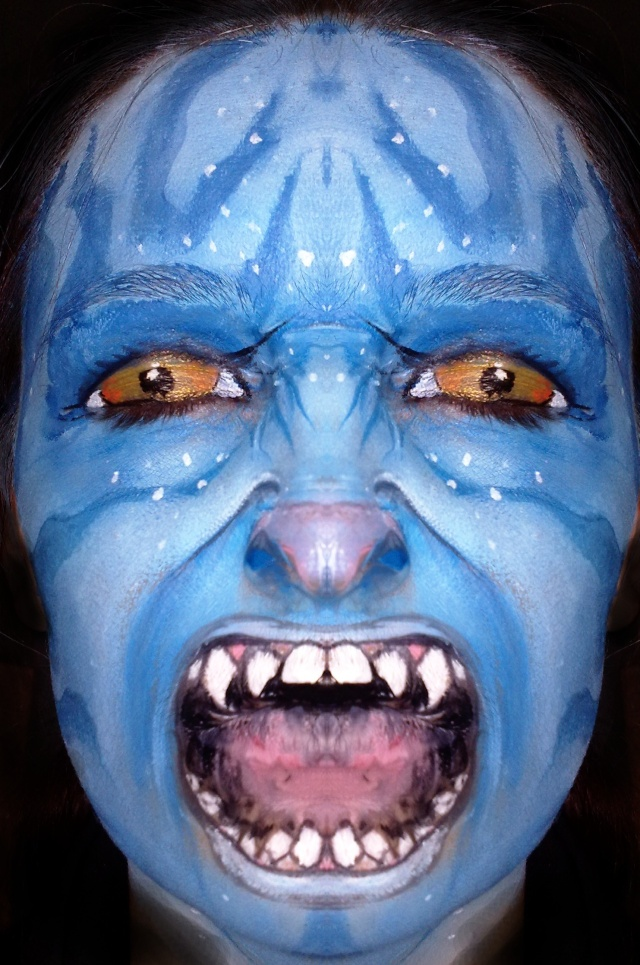 avatar face paint