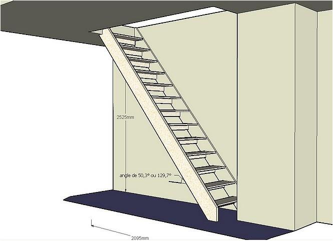 r alisation un escalier pour escalader. Black Bedroom Furniture Sets. Home Design Ideas