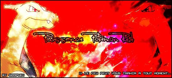 Puissance Pokémon Red