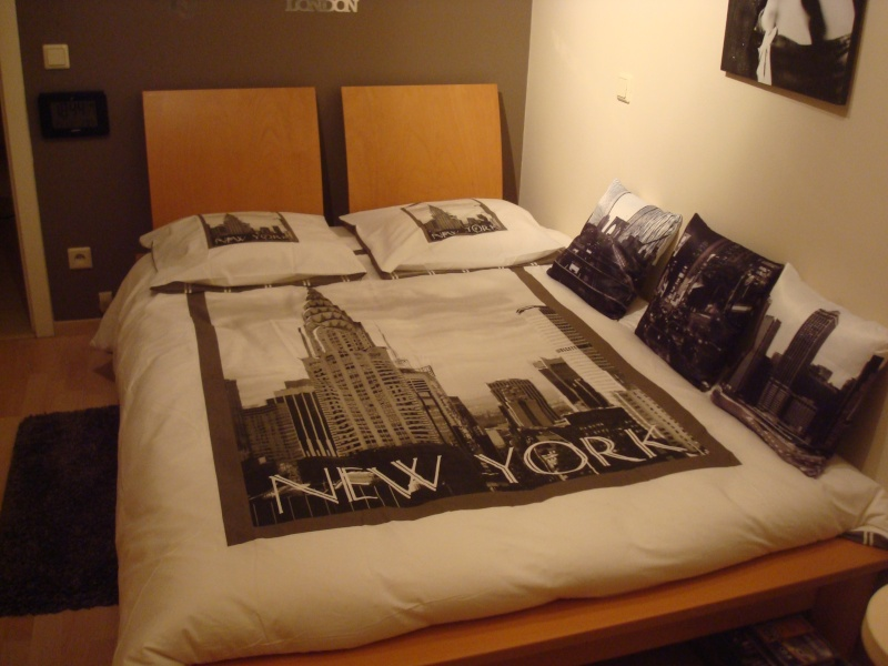 Stunning decoration chambre new york with decoration for Chambre new york