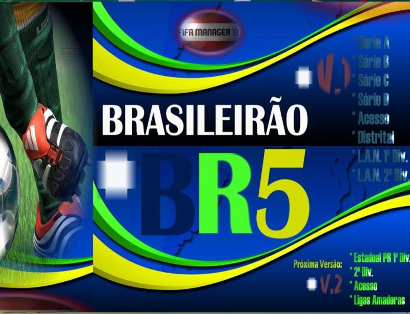 Fifa Manager 13 Brasileirão BR5