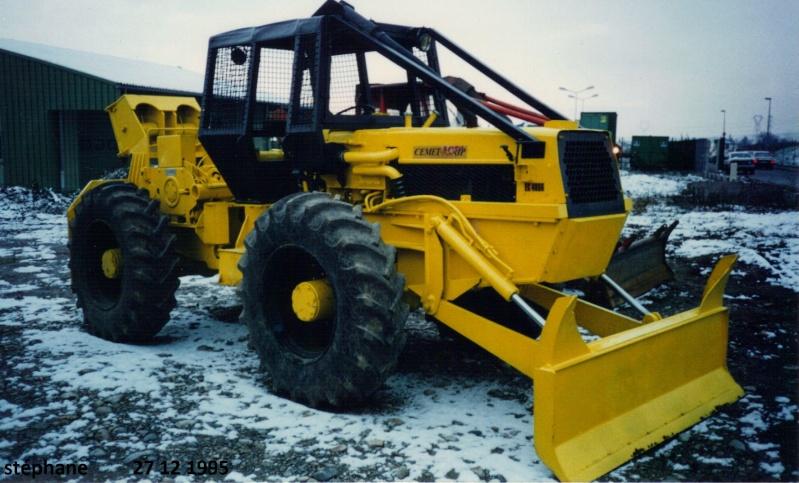 tracteur forestier cemet agrip