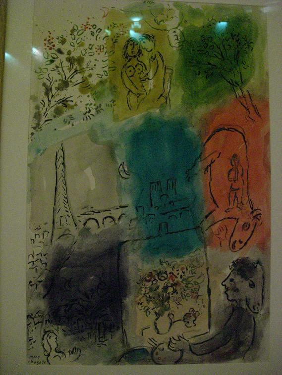 Paris balades paradis page 1 for Marc chagall paris vu de ma fenetre