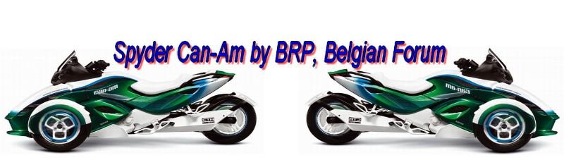 Belgium Forum Spyder Can-Am