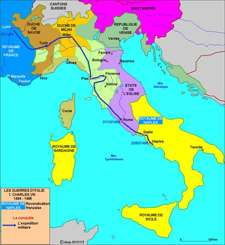 professionnel de la vente à chaud utilisation durable réflexions sur 25-01-1494 : Charles VIII part pour l'Italie. - Les forums ...