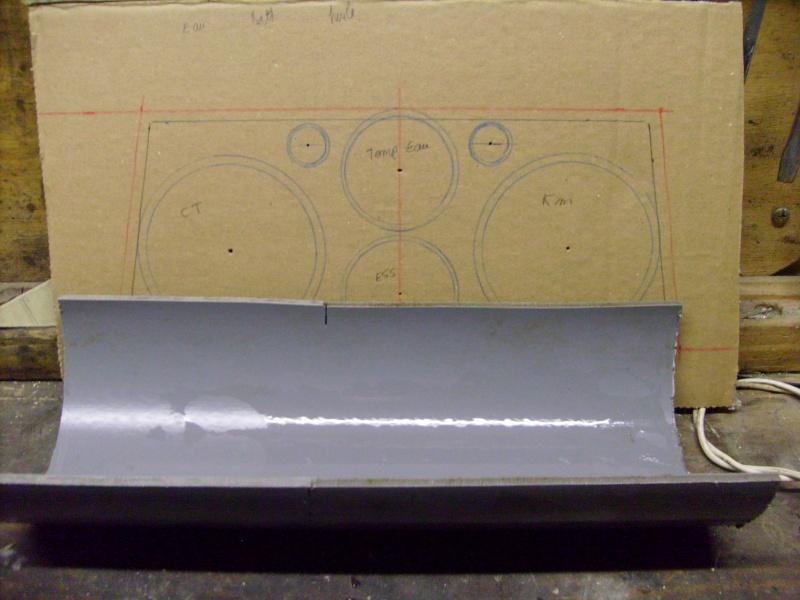 Fabrication d une planche support compteur tableau de bord - Plaque de coffrage ...