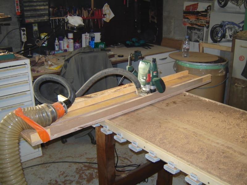 Restauration etabli - Table pour defonceuse bosch ...