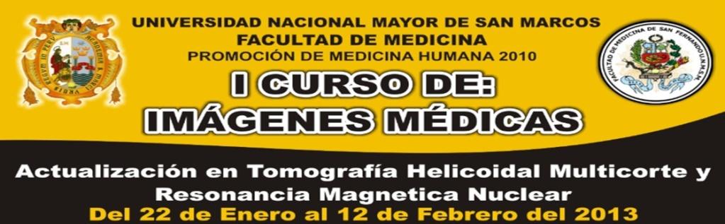 Curso de Imágenes Médicas 2013
